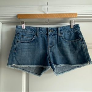 Juicy Couture Cutoff Jean Shorts
